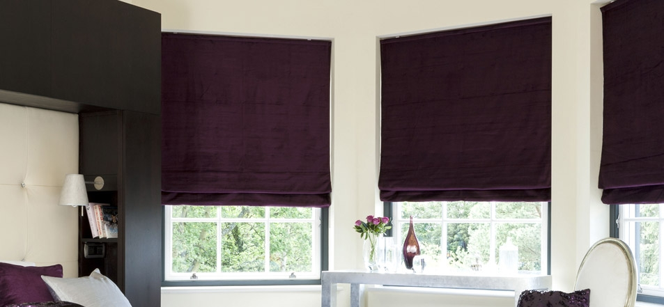 Thermal Roman Blinds