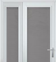 Precision Light Grey Wood – 25mm Slat Venetian Perfect Fit Blind