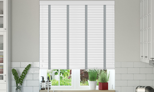 Made To Measure Faux Wood Venetian Blinds