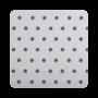 Millennium White Perforated - 35mm Aluminium Venetian Blinds