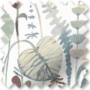 Artisan Grey Mix - Floral Pattern Roman Blind