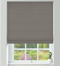 Assisi Light Grey - Luxury Plain Weave Roman Blind