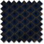 Augustus Blue - Faux Silk & Chenille Pattern Roman Blind