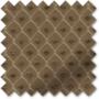 Augustus Chocolate - Faux Silk & Chenille Pattern Roman Blind