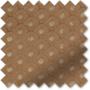 Augustus Coffee - Faux Silk & Chenille Pattern Roman Blind