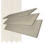 Charisma 50 Beige Fine Grain - 50mm Slat Faux Wood Blind Vanilla Tape