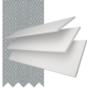Charisma 50 BW Fine Grain - 50mm Slat Faux Wood Blind Steel Tape