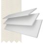 Charisma 50 Bright White - 50mm Slat Faux Wood Blind Vanilla Tape