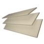 Charisma 50 Beige Fine Grain - 50mm Slat Faux Wood Blind