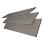Charisma 50 Light Grey - 50mm Slat Faux Wood Blind