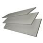 Charisma 50 Mid Grey - 50mm Slat Faux Wood Blind