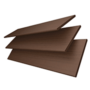 Charisma 50 Rich Brown - 50mm Slat Faux Wood Blind