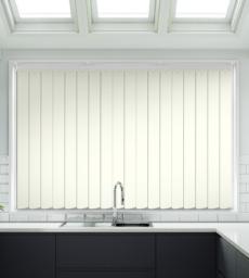 Dari Cream - Rigid PVC Vertical Blind