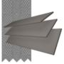Charisma 50 Dark Grey - 50mm Slat Faux Wood Blind Gallant Tape