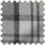 Ecosse Grey - Tartan Roman Blind
