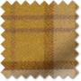 Ecosse Mustard - Tartan Roman Blind