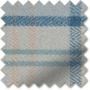 Ecosse Mystic Blue - Tartan Roman Blind