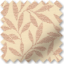 Fern Soft Pink - Floral Pattern Roman Blind