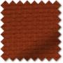 Hadrian Burnt Orange - Designer Basketweave Roman Blind