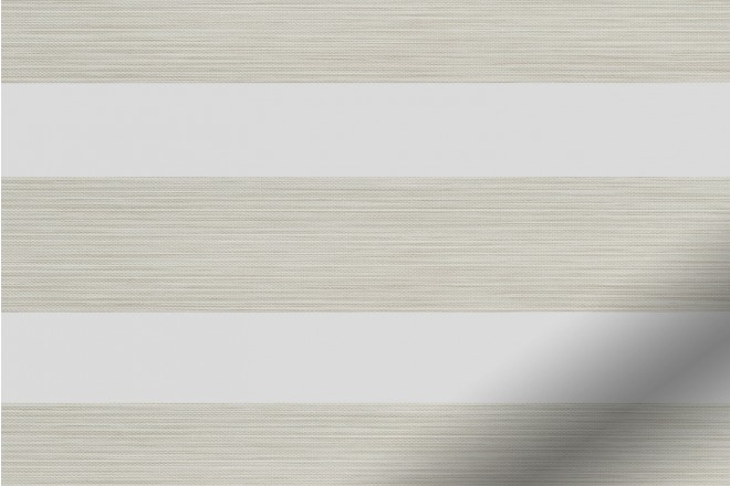 Horizon Cream - Day and Night Blind with Extra Fine Voile
