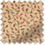 LaFleur Terracotta - Floral Pattern Roman Blind