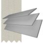 Charisma 50 LG Fine Grain - 50mm Slat Faux Wood Blind Pebble Tape