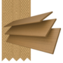 Charisma 50 Light Oak - 50mm Slat Faux Wood Blind Camel Tape