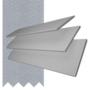 Charisma 50 Light Grey - 50mm Slat Faux Wood Blind Steel Tape