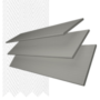 Charisma 50 MG Fine Grain - 50mm Slat Faux Wood Blind Super White Tape