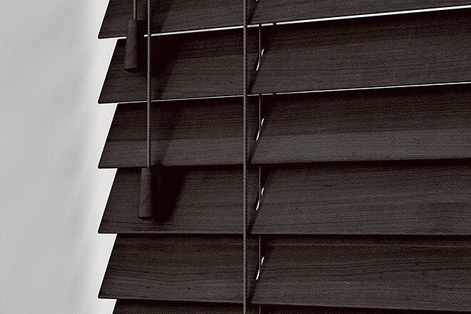 Morgan Mahogany - 50mm Slat Wooden Blind