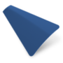 Precision Blue – 25mm Slat Venetian Perfect Fit Blind
