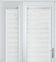 Precision White Gloss – 25mm Slat Venetian Perfect Fit Blind