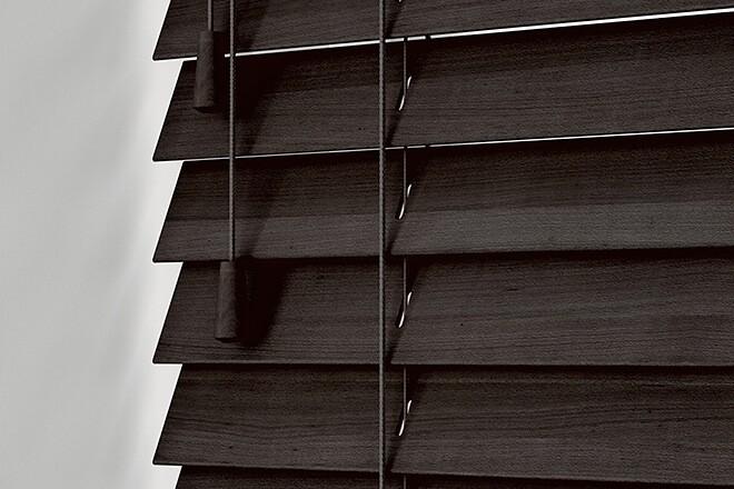 Precision Mahogany Wood - 25mm Slat Venetian Perfect Fit Blind
