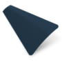 Precision Navy – 25mm Slat Venetian Perfect Fit Blind