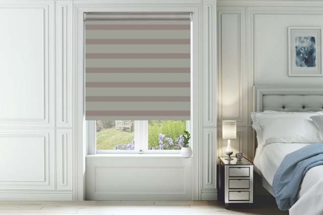 Pure Sand - Ultra Fine Voile Blackout Day and Night Blind