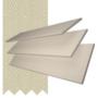 Charisma 50 Stone Fine Grain - 50mm Slat Faux Wood Blind Ecru Tape