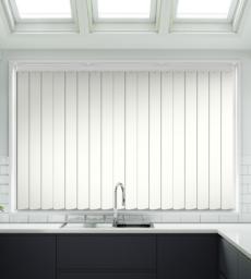 Tule Ivory Hi-Light Design - Rigid PVC Vertical Blind