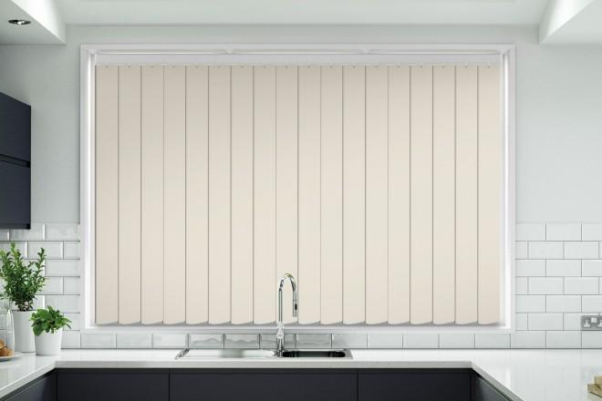Tule Stone Hi-Light Design - Rigid PVC Vertical Blind