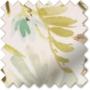 Watercolour Duck Egg - Floral Pattern Roman Blind