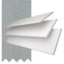 Charisma 35 White Fine Grain - 35mm Slat Faux Wood Blind Steel Tape
