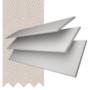 Charisma White - 35mm Slat Faux Wood Blind Mist Tape
