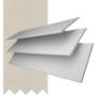 Charisma 50 White - 50mm Slat Faux Wood Blind Mist Tape