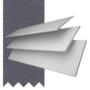Charisma 50 White - 50mm Slat Faux Wood Blind Slate Tape