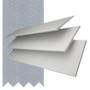 Charisma 50 White - 50mm Slat Faux Wood Blind Steel Tape