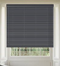 Maine 35 Slate Grey - 35mm Slat Wooden Venetian Blind