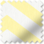 Chevron Yellow - Patterned Roller Blind