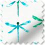 Dragonfly Aqua - Patterned Roller Blind