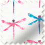 Dragonfly Electric - Patterned Roller Blind