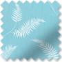 Feather Blue - Patterned Roller Blind