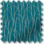 Fever Blue - Patterned Vertical Blind